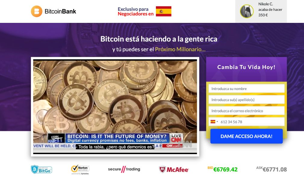 Crypto Bank fiable o estafa