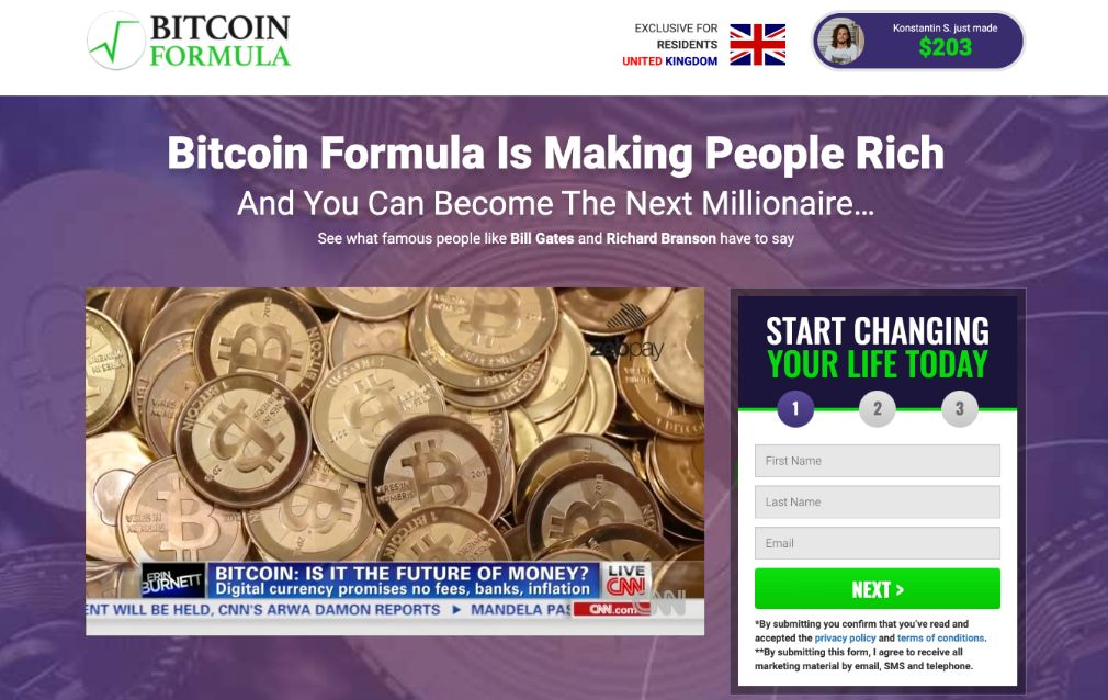 Bitcoin Formula Review – Is it SCAM or LEGIT broker?