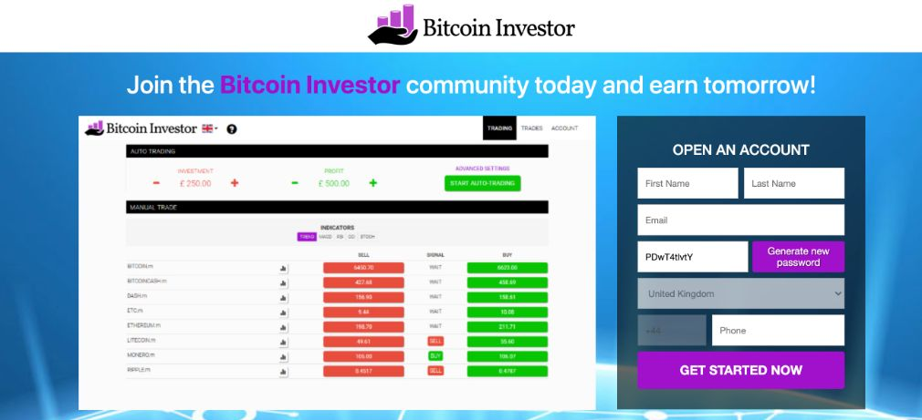Bitcoin Investor Review – Is it SCAM or LEGIT broker?