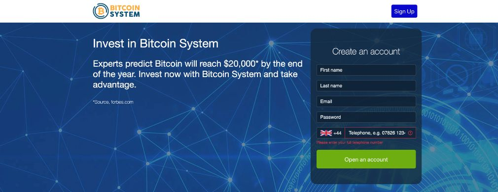 Bitcoin System Review – Is it SCAM or LEGIT broker?