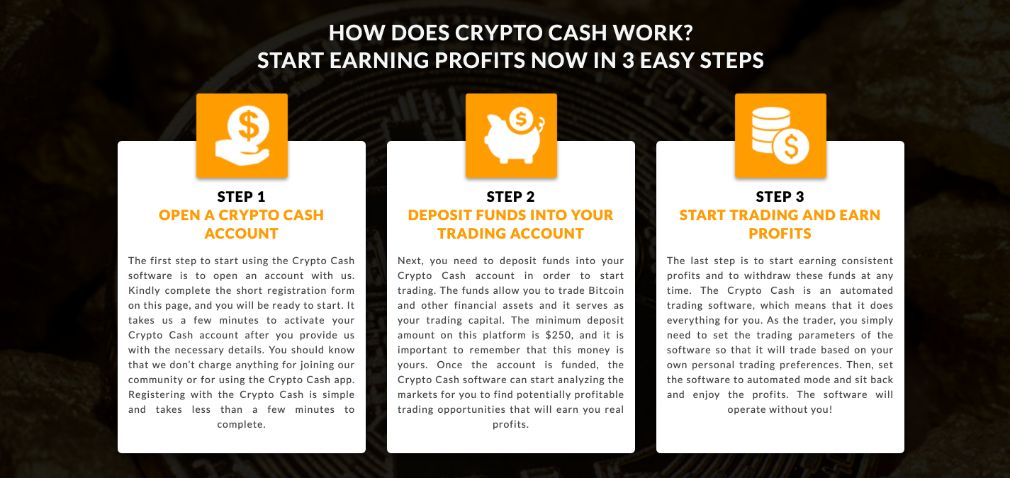 Crypto Cash how to start