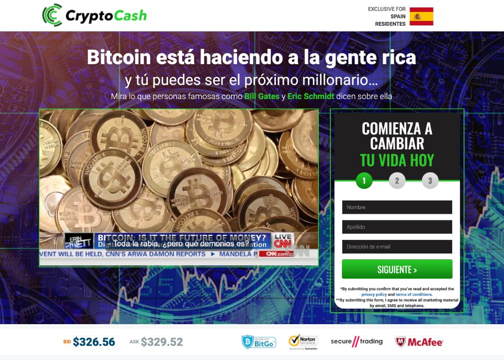 Crypto Cash fiable o estafa