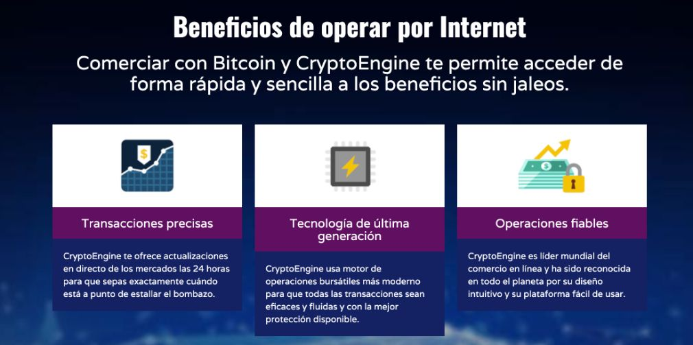 Crypto Engine beneficios