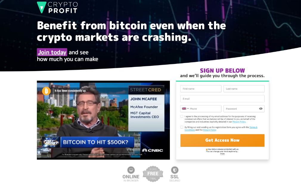 Crypto Profit Review – Is it SCAM or LEGIT broker?