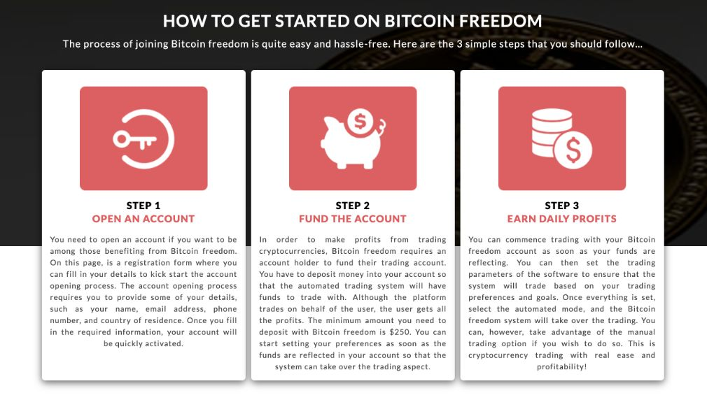 How to trade with Bitcoin Freedom
