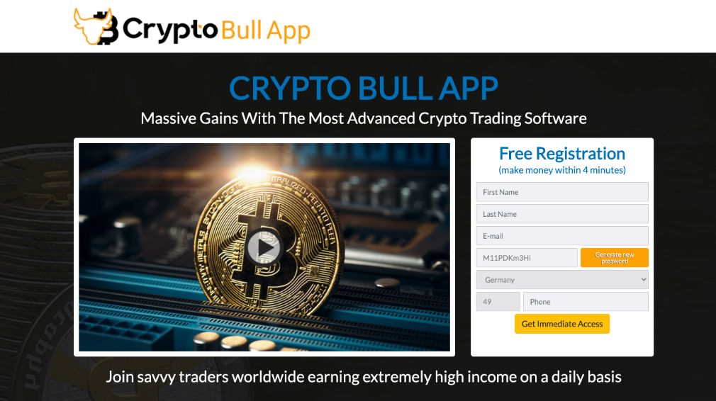 Crypto Bull Review – Is it SCAM or LEGIT broker?